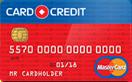 Кредитная карта Card Credit Mastercard