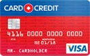 Кредитная карта Card Credit Visa
